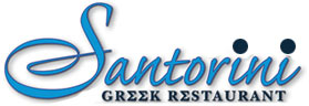 Santorini Greek Logo